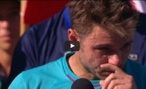 "ennis, Wawrinka a Federer: ""Sei uno stronz..."""