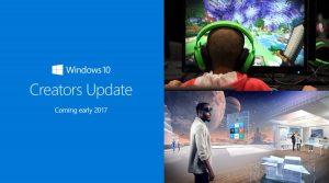 Windows 10, arriva Creators Update: Microsoft punta su realtà virtuale e gaming online