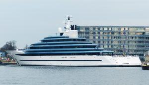"""""""Jubilee"""", il mega yacht da 110 metri: piscina, acquario... FOTO"""