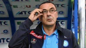 """Sassuolo-Napoli, Sarri grida al complotto: """"Damato scarso, era rigore quello di Cannavaro"""""""