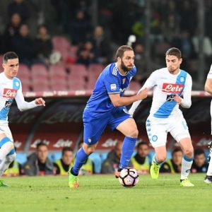 Napoli-Juventus 1-1, Gonzalo Higuain fischiato e poco incisivo