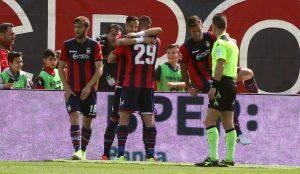 Crotone-Inter 2-1 pagelle, highlights: Falcinelli doppietta decisiva