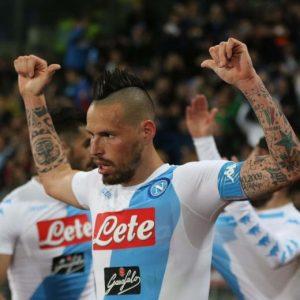 """Napoli-Juve, Hamsik: """"Vederli difendersi così per noi è un onore"""""""