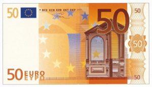 Banconota 50 euro, oggi esordio del nuovo taglio. Le vecchie circolano fino a esaurimento scorte