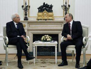 """Vladimir Putin: """"L' Italia è partner affidabile della Russia"""""""
