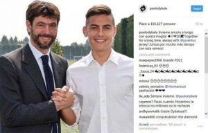 "Juventus, Dybala: ""Sognavo la maglia di Buffon, ora giochiamo insieme"""