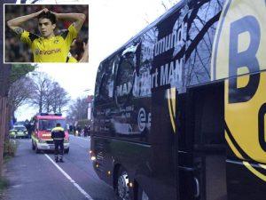 Borussia Dortmund, bombe mirate alla squadra. Si esamina messaggio trovato sul posto