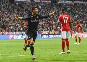Bayern-Real 1-2, Cristiano Ronaldo decisivo: 100° gol in Europa
