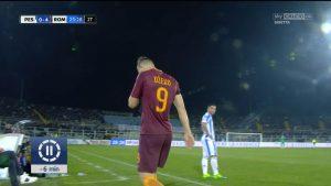 Serie A: Roma a +4 sul Napoli in zona Champions. Pescara retrocesso