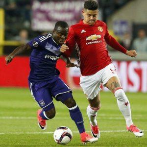 Anderlecht vs Manchester United nelle foto Ansa