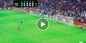 Besiktas-Lione 2-1 (6-7 rigori) highlights: Talisca-Lacazette video gol