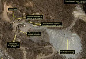 """Corea del Nord, dagli Usa la denuncia: """"Attività continue al sito dei test nucleari"""""""