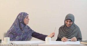 Donne musulmane radicali spiegano come devono essere picchiate dai mariti