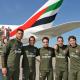 Fly Emirates omaggia Milan: cinque giocatori sulla livrea di un aereo