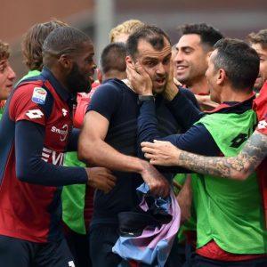 Genoa-Lazio 2-2 pagelle, highlights, foto: Simeone-Biglia-Pandev-Alberto video gol
