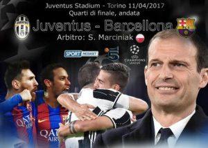 Juventus-Barcellona diretta formazioni ufficiali highlights foto