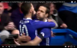 YouTube, Chelsea-Crystal Palace 1-2: Antonio Conte ko a sorpresa