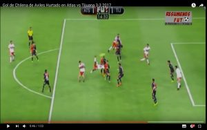 YouTube, Aviles Hurtado: gol rovesciata in Atlas-Xolos 3-3