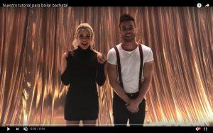 "YOUTUBE Shakira, tutorial per ballare la ""Bachata"""