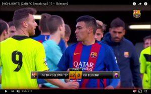 YouTube, Barcellona B-Eldense 12-0: è polemica in Spagna