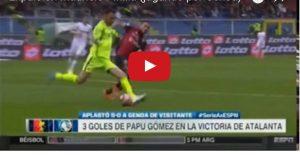 YOUTUBE, Mauricio Pinilla squalificato cinque giornate per questo fallo