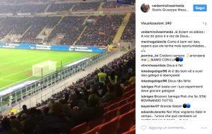 Inter, padre Gabigol posta video in cui San Siro lo invoca