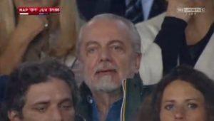 Napoli-Juventus, l'esultanza di Higuain (immagini Rai)