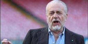 """De Laurentiis frecciata ad Allegri: """"Grande Napoli, Sarri non è catenacciaro..."""""""