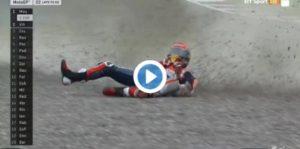 MotoGp Argentina, VIDEO: Marquez - Jorge Lorenzo cadute