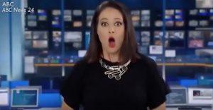YOUTUBE Giornalista Natasha Exelby non si accorge di essere in diretta. La sua reazione è esilarante