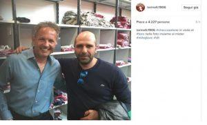 Mihajlovic con Fiorello e Checco Zalone: poi è arrivato Conte...