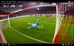 YouTube, Bayern-Real: Vidal rigore sparato in curva (VIDEO)