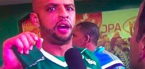 """YouTube, Felipe Melo: """"Mi ha chiamato scimmia, forse la moglie lo tradisce con un nero"""""""