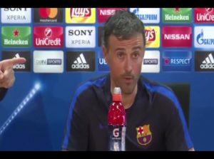 """YouTube, Luis Enrique: """"Faremo tre gol, se Juve segna ne faremo cinque"""""""