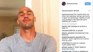 """Paolo Cannavaro: """"Secondo tifosi Napoli dovevo prendere la palla con la mano"""""""