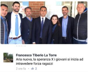 """Pd contro M5s: """"Luigi Di Maio sostenuto dal figlio del boss La Torre"""" FOTO"""