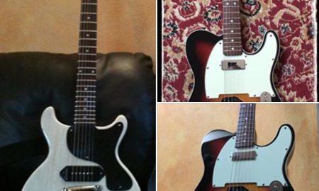 Nek, rubate le chitarre di Chicco Gussoni. L'appello su Facebook