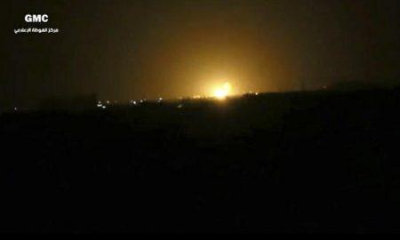Siria, raid di Israele contro Hezbollah all'aeroporto di Damasco FOTO