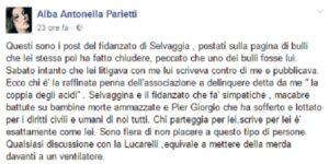 """Alba Parietti contro Selvaggia Lucarelli: """"Discutere con lei è come mettere m... nel ventilatore"""""""