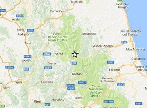 Terremoto Arquata del Tronto, scossa di magnitudo 2,6