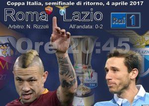 Roma-Lazio diretta, formazioni ufficiali dalle 20.30
