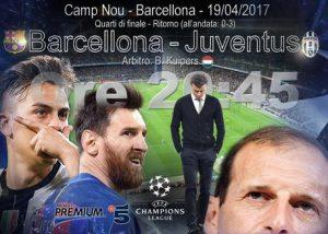 Barcellona-Juventus, la diretta live della partita di Champions