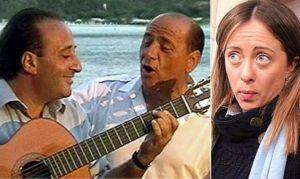 """Berlusconi: """"Giorgia Meloni è una bella donna"""". Apicella prepara una canzone..."""