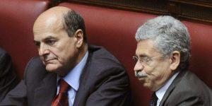 Bersani, D'Alema e i compagni No vaccini. Chi va per questi mari...