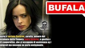 """Laura Boldrini e la bufala sulla sorella: """"Tutte menzogne. Lei è morta"""""""