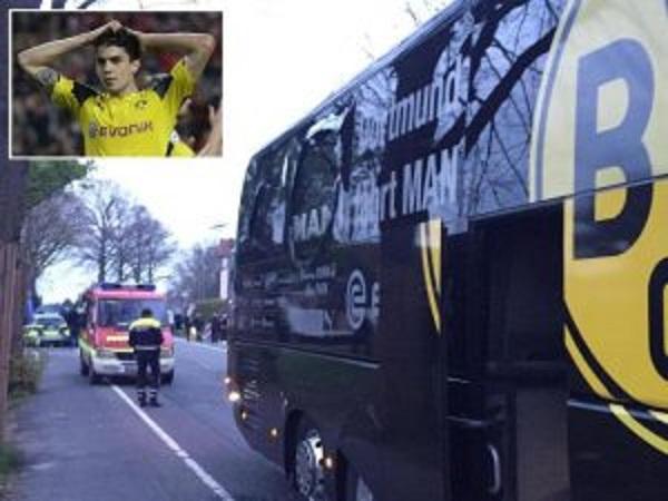 Borussia Dortmund, polizia tedesca arresta islamico per attacco al bus