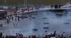 rasile, polizia carica indigeni che protestano per la difesa delle riserve amazzoniche