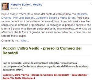 "Virologo Roberto Burioni contro deputato anti-vaccini: ""Pericolose bugie, fermatelo"""