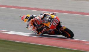 MotoGp Usa (Texas): Marc Marquez pole, Valentino Rossi è terzo
