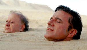 Christian De Sica e Massimo Boldi (foto Ansa)